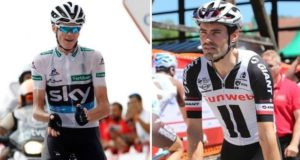 Froome and Dumoulin