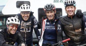 Lance Armstrong and US postal buddies