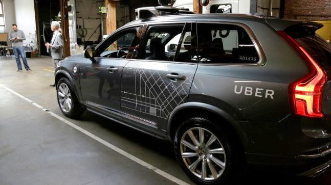 Uber car self driving cyclist killed