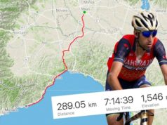 nibali milan sanremo ride on strava