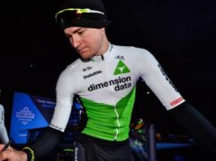 Scott Thwaites crash training ride fractures