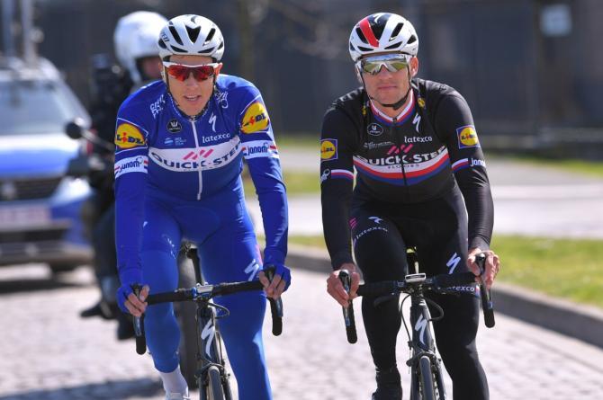 Niki Terpstra and Zdenek Stybar