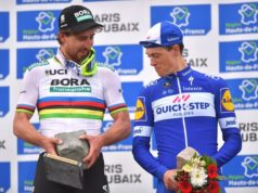 Niki Terpstra and Peter Sagan