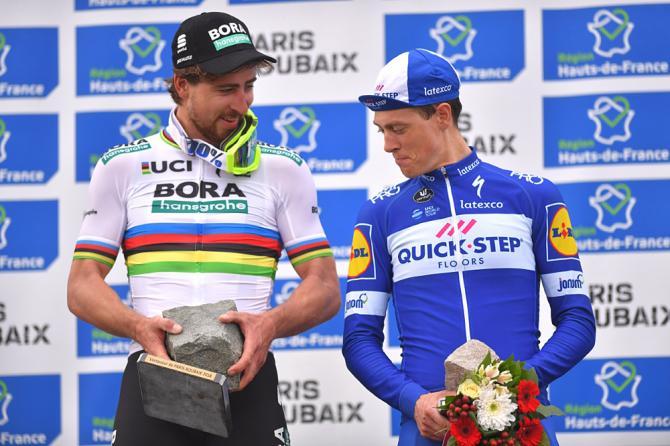 Niki Terpstra and Peter Sagan