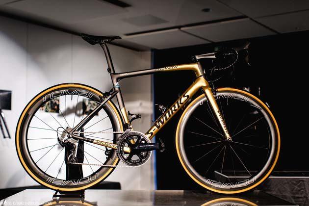 2018 Sagan Collection Tarmac gold