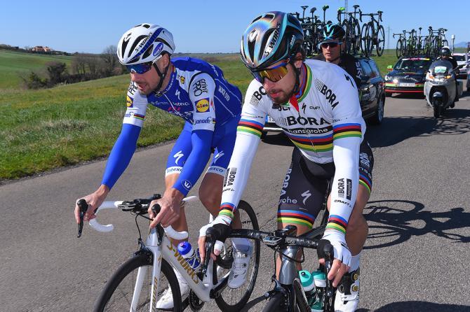 Tom Boonen and Peter Sagan
