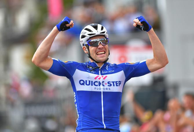 Maximilian Schachmann wins stage 18 giro d'italia 2018