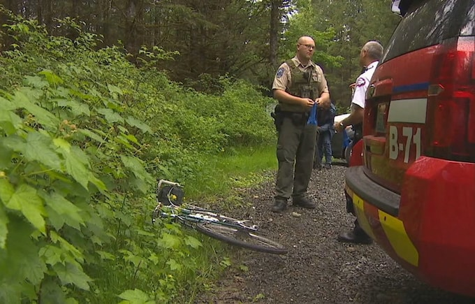 cyclist killed by cougar