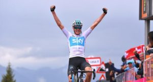 Chris Froome wins on monte zoncolan giro 2018