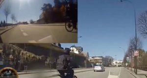 e-bike overatakes cyclist insane speed norway