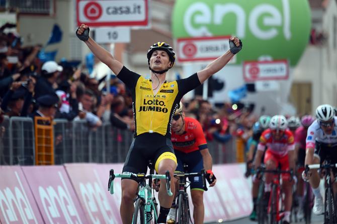 Enrico Battaglin stage 5 giro d'italia 2018