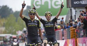 Esteban Chaves and Simon Yates giro 2018 etna