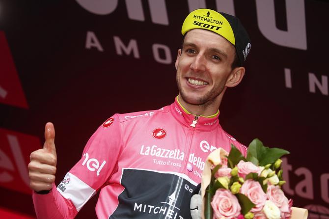 Simon Yates pink jersey giro 2018