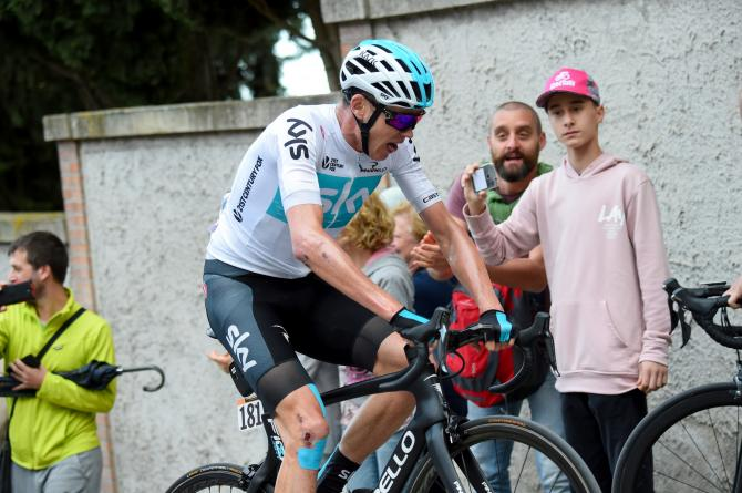 Chris Froome giro 2018 stage 11