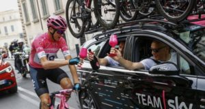 Dave Brailsford and Chris froome giro 2018