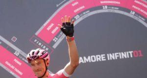 Rohan Dennis maglia rosa giro 2018