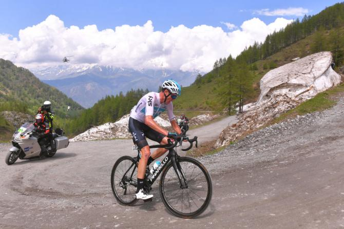 Chris Froome wins stage 19 giro d'italia 2018