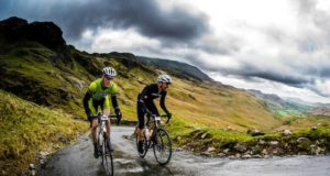 hardknott pass climbing cycling