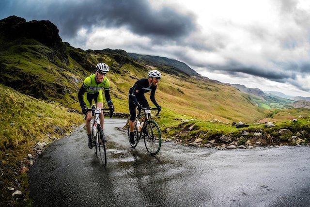 hardknott pass climbing cycling