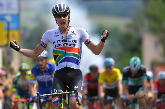 Daryl Impey wins stage 1 dauphine 2018