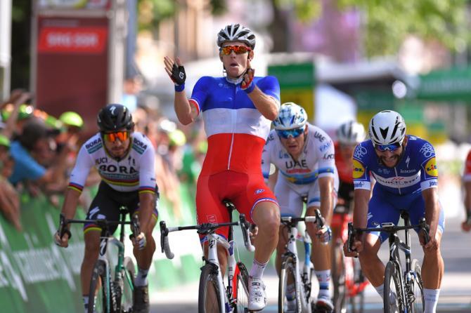 Arnaud Demare wins stage 8 Tout de Suisse 2018