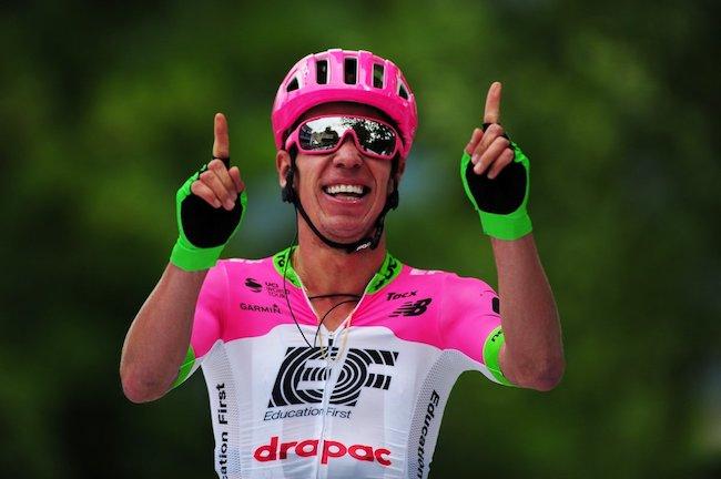 Rigoberto Uran wins stage 3 Tour of Slovenia 2018