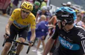 Bradley Wiggins and Chris Froome