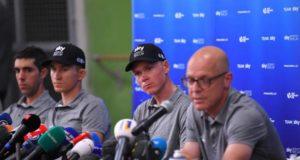 Chris Froome press conference tour de france 2018