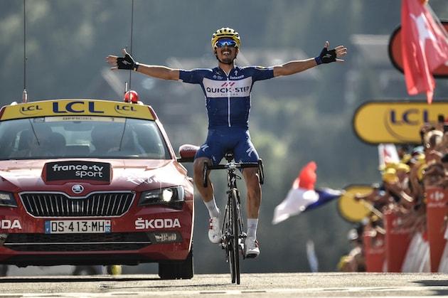 Julian Alaphilippe wins stage 10 tour de francde 2018