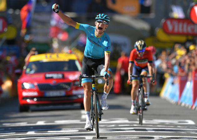 Magnus Cort wins stage 15 tour de france 2018