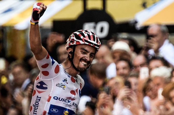 Julian Alaphilippe wins stage 16 tour de france