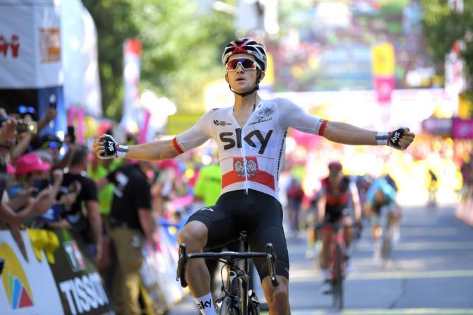 Michal Kwiatkowski wins stage 4 tour of poland