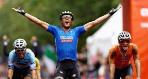 Matteo Trentin wins European Championships 2018