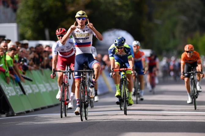 Matej Mohoric wins stage 2 Tour of Germany