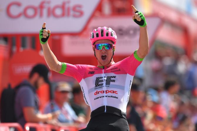 Simon Clarke wins stage 5 Vuelta 2018