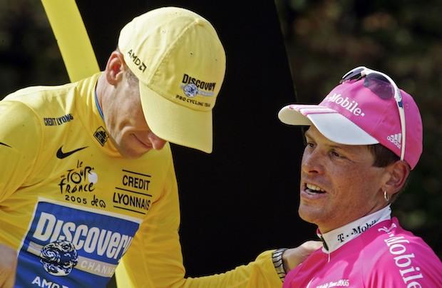 Jan Ullrich Lance Armstrong visit