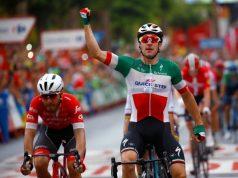 Elia Viviani wins stage 3 vuelta a espana 2018