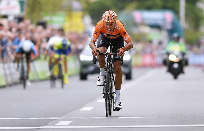 Taco Van Der Hoorn wins stage 3 BInck Bank Tour