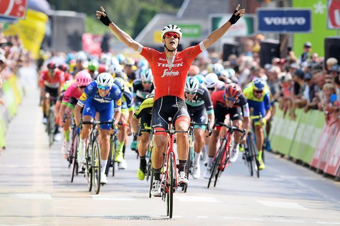 Jasper Stuyven wins stage 4 Binck Bank Tour