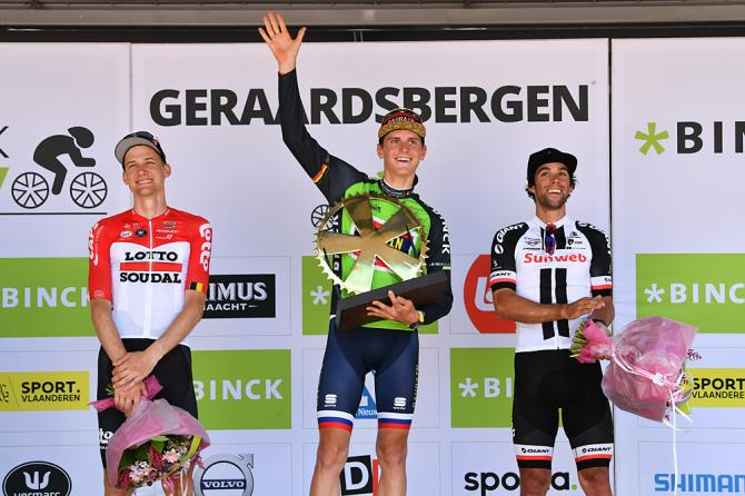 Binck Bank Tour 2018 podium