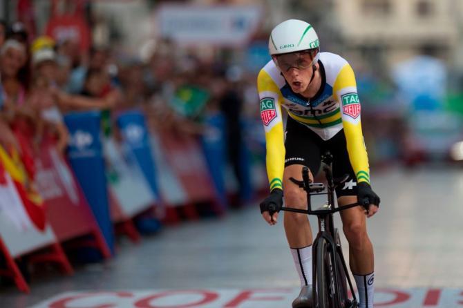 Rohan Dennis wins stage 1 vuelta 2018