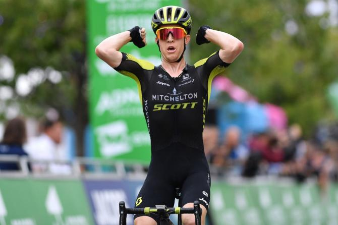 Cameron Meyer tour of britain 2018 stage two