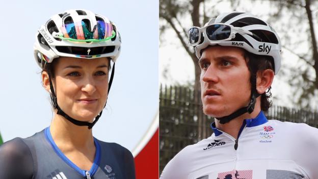 Lizzie Deignan and Geraint Thomas