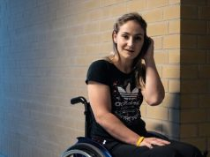 Kristina Vogel paralysed