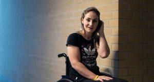 Kristina Vogel paralysed