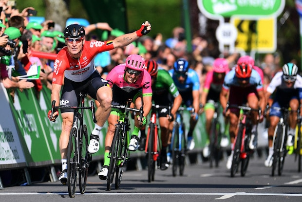 Andre Greipel wins tour of britain stage 4