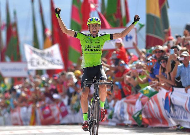 Oscar Rodriguez wins stage 13 vuelta a espana 2018