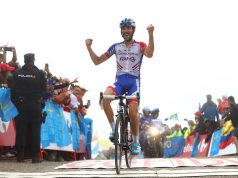 Thibaut Pinot wins on Lagos de Covadonga vuelta 2018