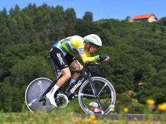 Rohan Dennis wins vuelta a espana 2018 stage 16