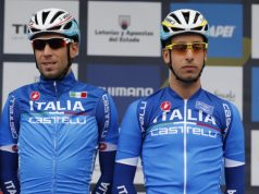 Vincenzo Nibali and Fabio Aru